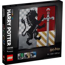 LEGO Art 31201 Harry Potter Hogwarts-våbenskjolde