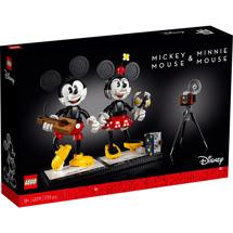 LEGO Creator 43179 Bygbare Mickey Mouse og Minnie Mouse-figurer