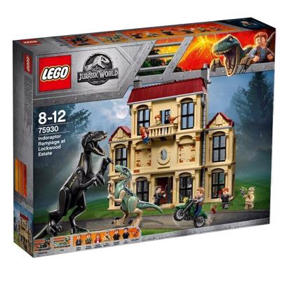 LEGO Jurassic World 75930 Indoraptor-kaos på Lockwood Estate
